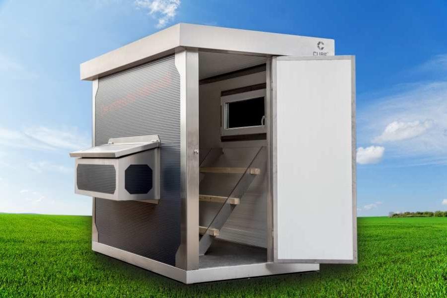 Cube Fx Gartenhaus Die Revolution Im Garten Leben Geniessen